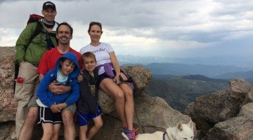 """Taking Kids to New Heights: hiking Colorado's """"14er"""" mountains"""