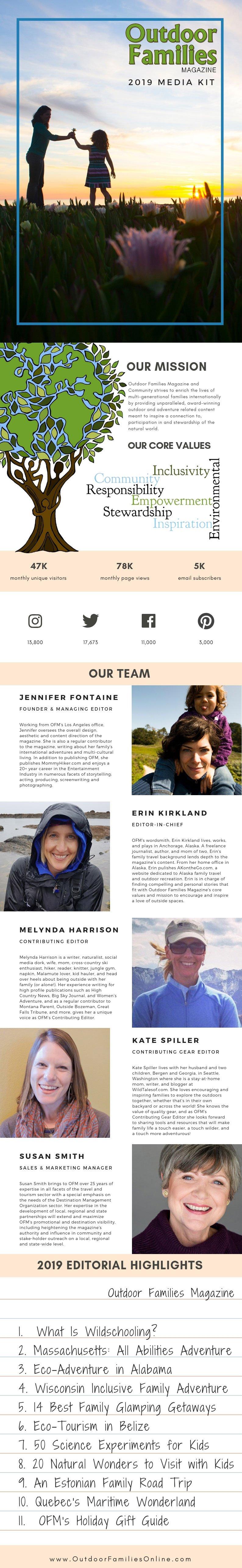 outdoor families magazine 2019 media kit