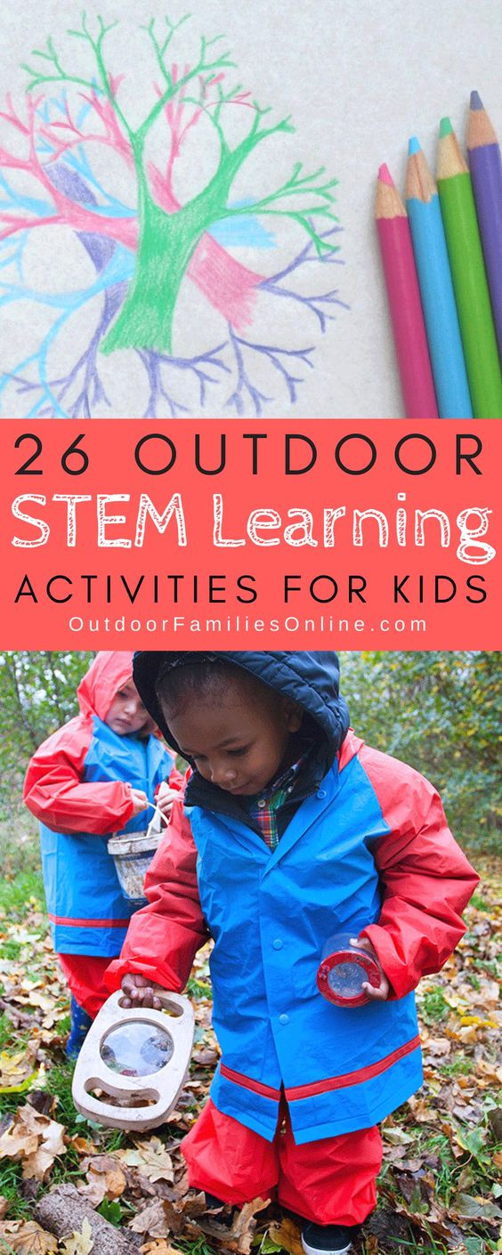 Our complete outdoor STEM activities guide is guaranteed to keep kids engaged and learning in the outdoors. Try these 26 outdoor STEM projects.