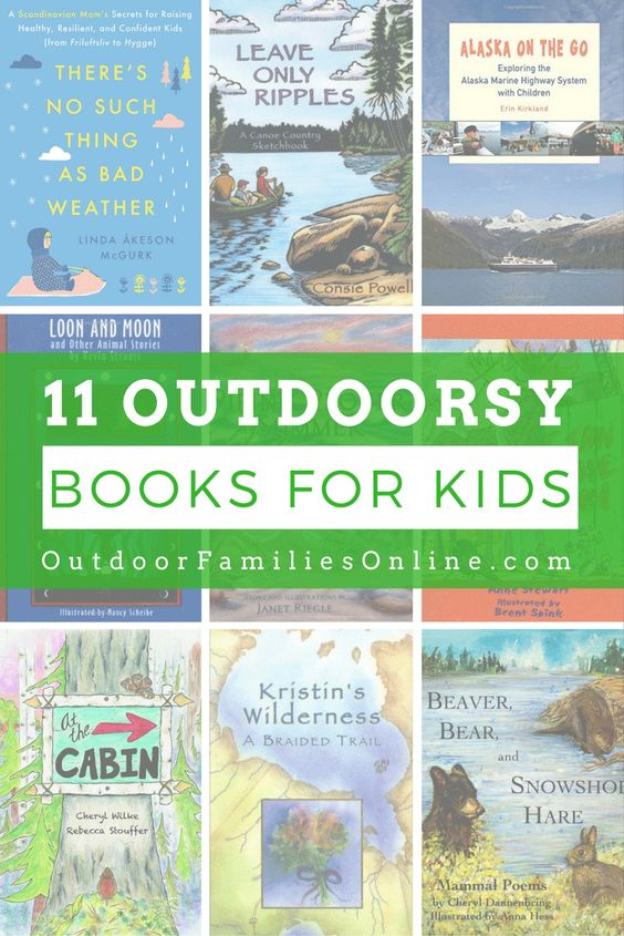 A list of nature books for kids (and adults) meant to inspire the next generation of naturalists to get outside and start exploring the world.