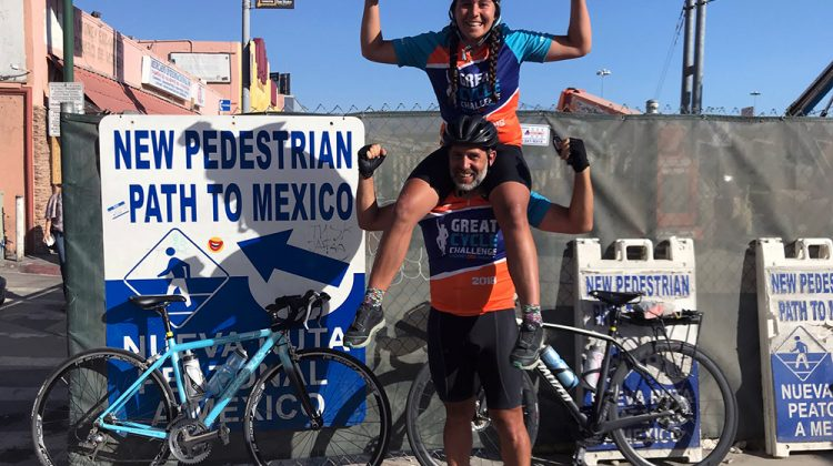 From Canada to Mexico: Father and daughter ride bicycles to support childhood cancers