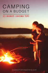 Family Camping Money Saving Tips & Tricks