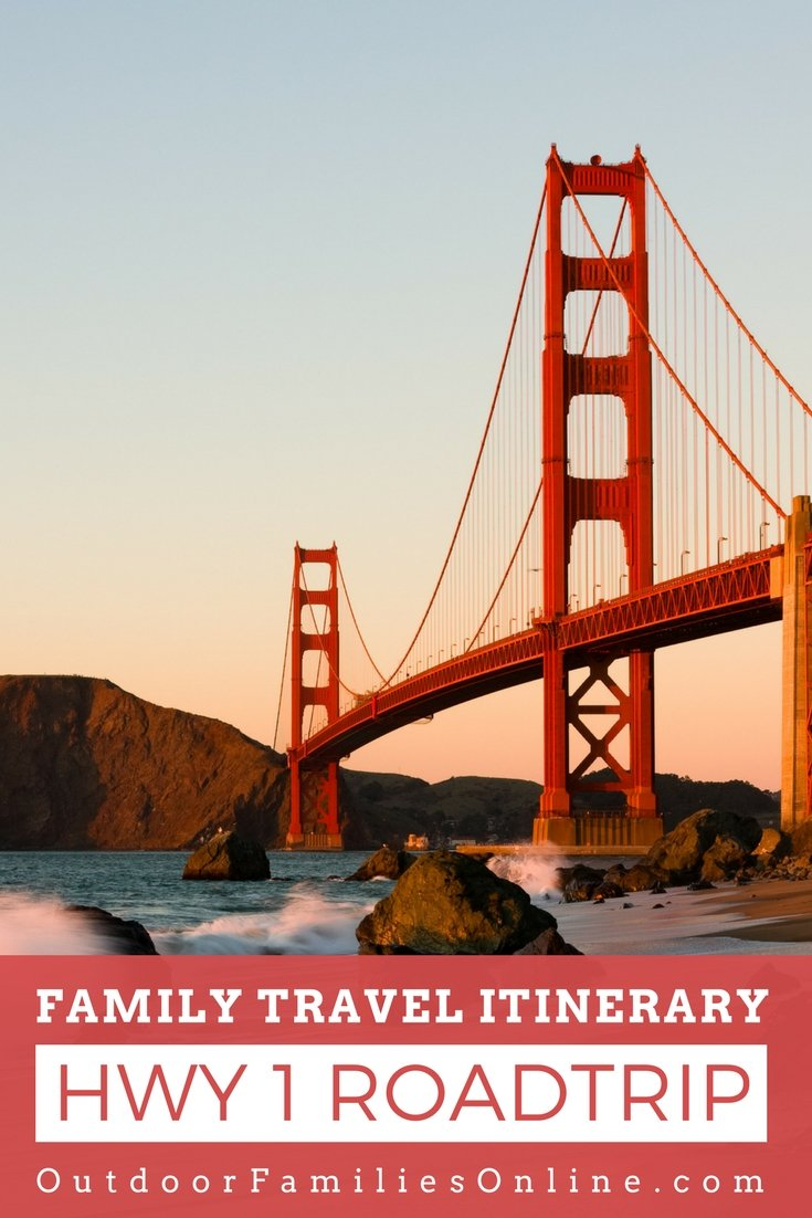 Drive California's famous Pacific Coast Highway, Route 1, like a pro with Outdoor Families Magazine's Pacific Coast Highway road trip itinerary.