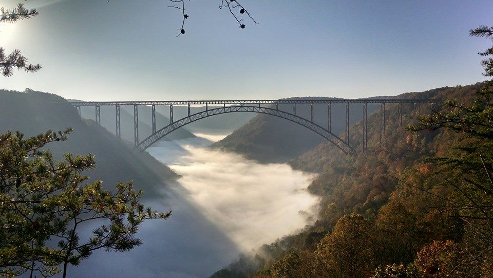 New River Gorge camping west virginia