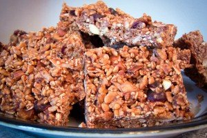Evan's No-Bake Granola Bars