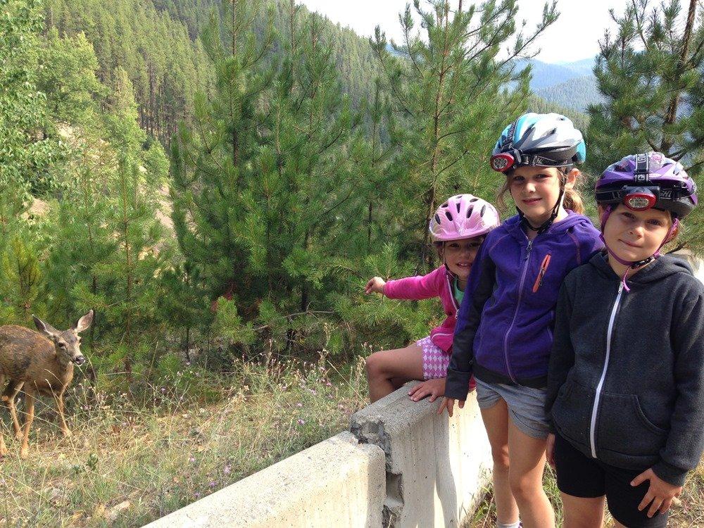 Biking the Hiawatha Trail with kids