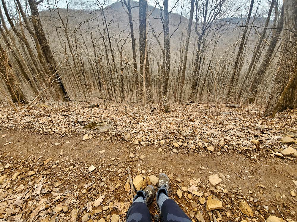 hiking Appalachian trail