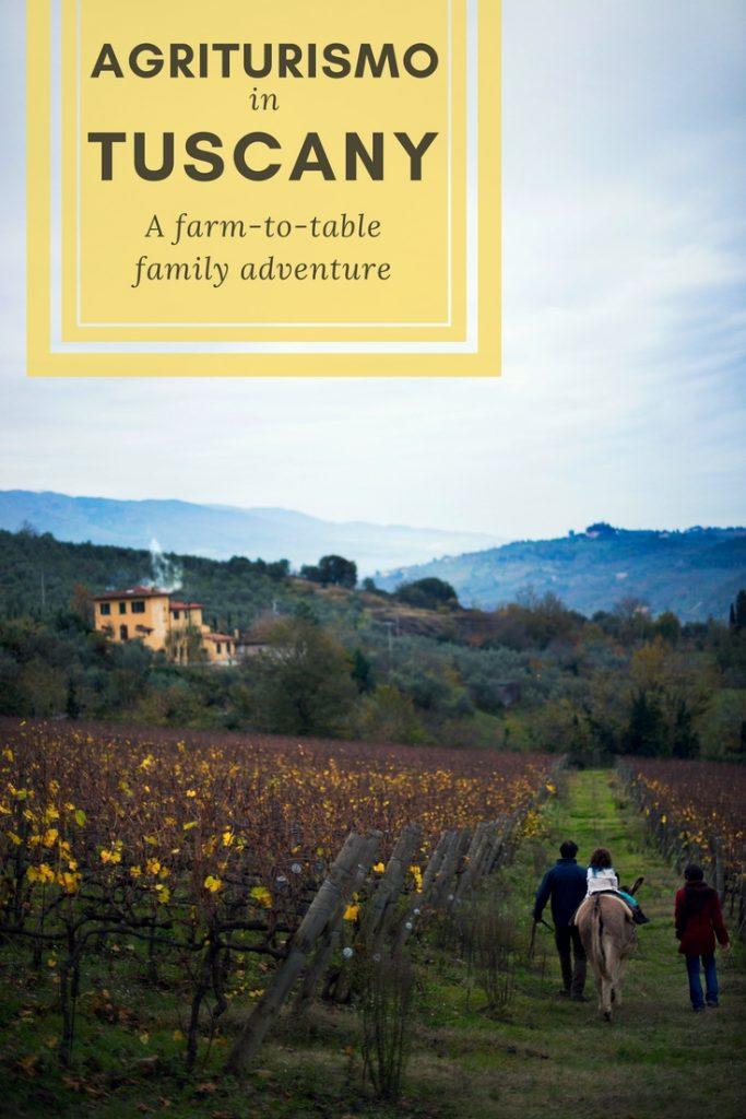 tuscany italy agriturismo family travel