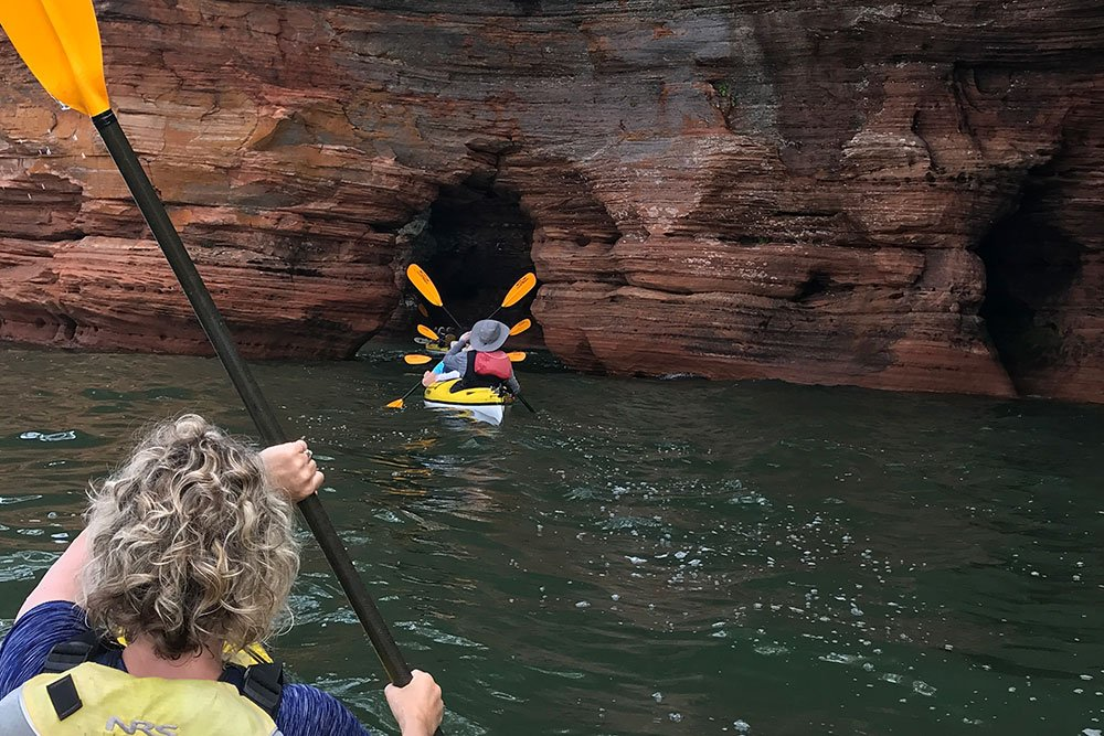 family camping apostle islands Wisconsin