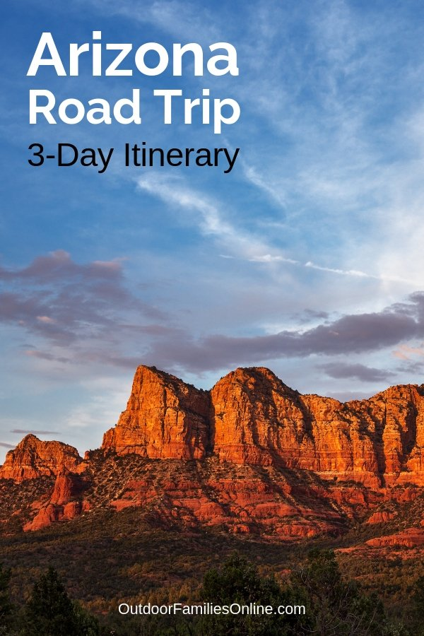 If you only have 3 days to plan an adventurous Arizona road trip with the family this summer, leave the planning to our family travel experts and use this 3-day itinerary.