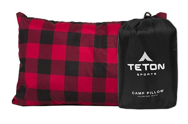 best camp pillow teton sports