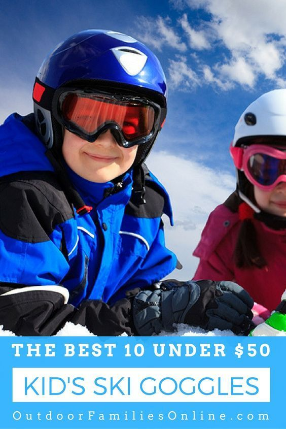 So, you need a new pair of kids ski goggles, but with so many to choose from, how do you decide which are the best kids ski goggles for you? Here are the 10 best under $50.