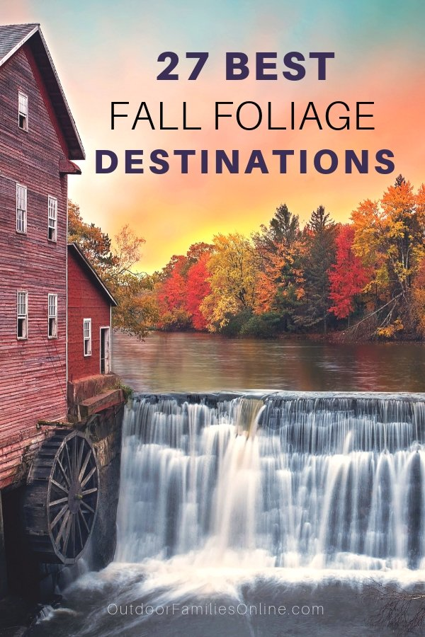 You don't have to travel far to experience the USA's famous Fall foliage. Explore the wonder of changing seasons and check out our 27 picks for the best fall foliage destinations.