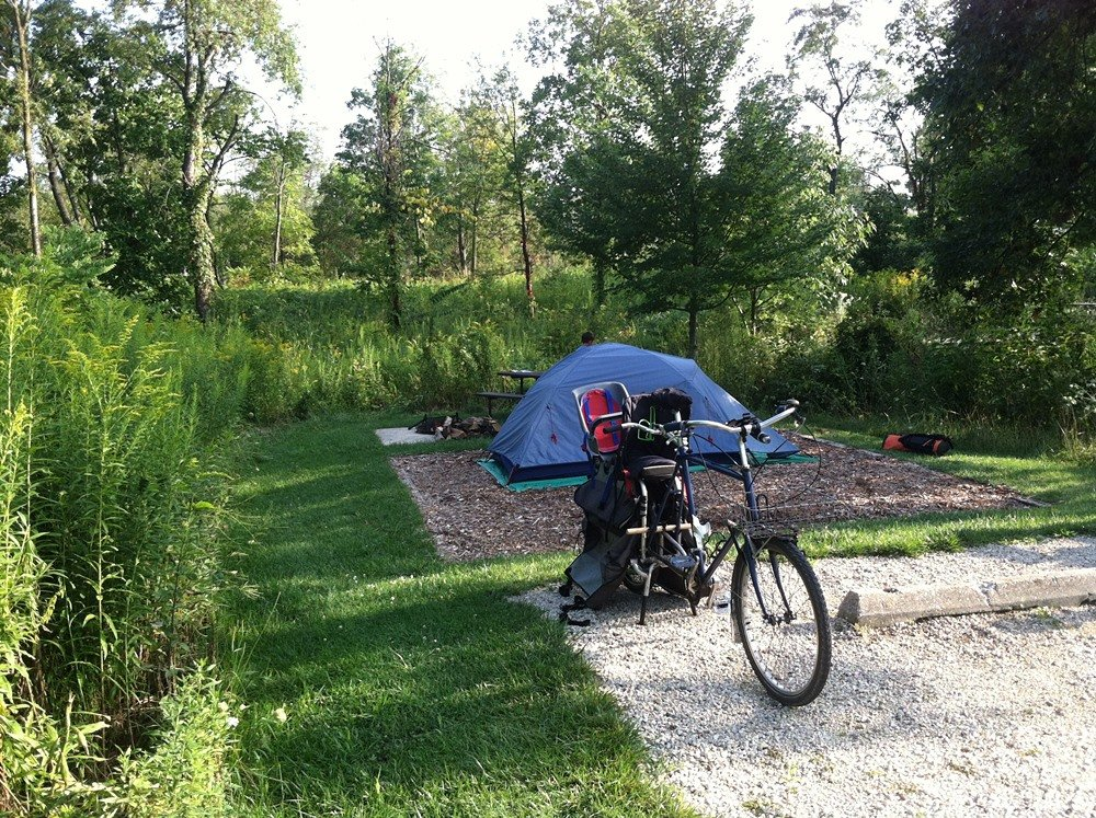 Bicycle Bike Camping Means Fun On Two Wheels - Outdoor Families Magazine