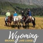 brooks lake lodge wyoming yellowstone resort