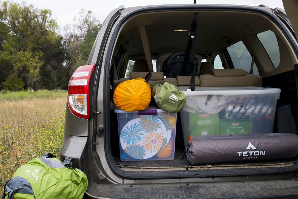 Camping 101: Utilize storage bins for car camping success - Outdoor Families Magazine