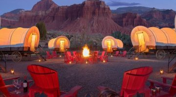 capitol reef resort conestoga wagons