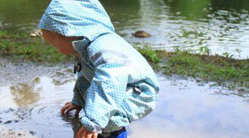 ducksday rain suit for kids