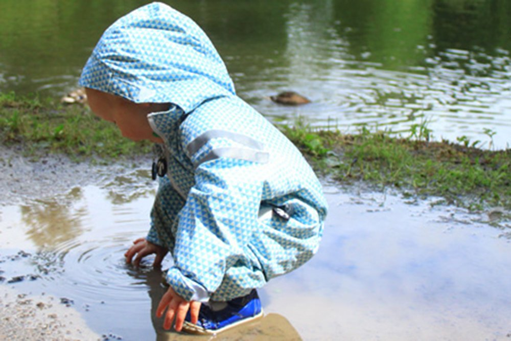 ducksday rain suit for kids
