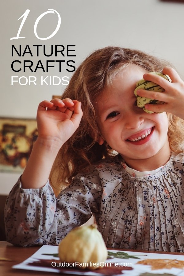 Easy Nature Crafts for Kids