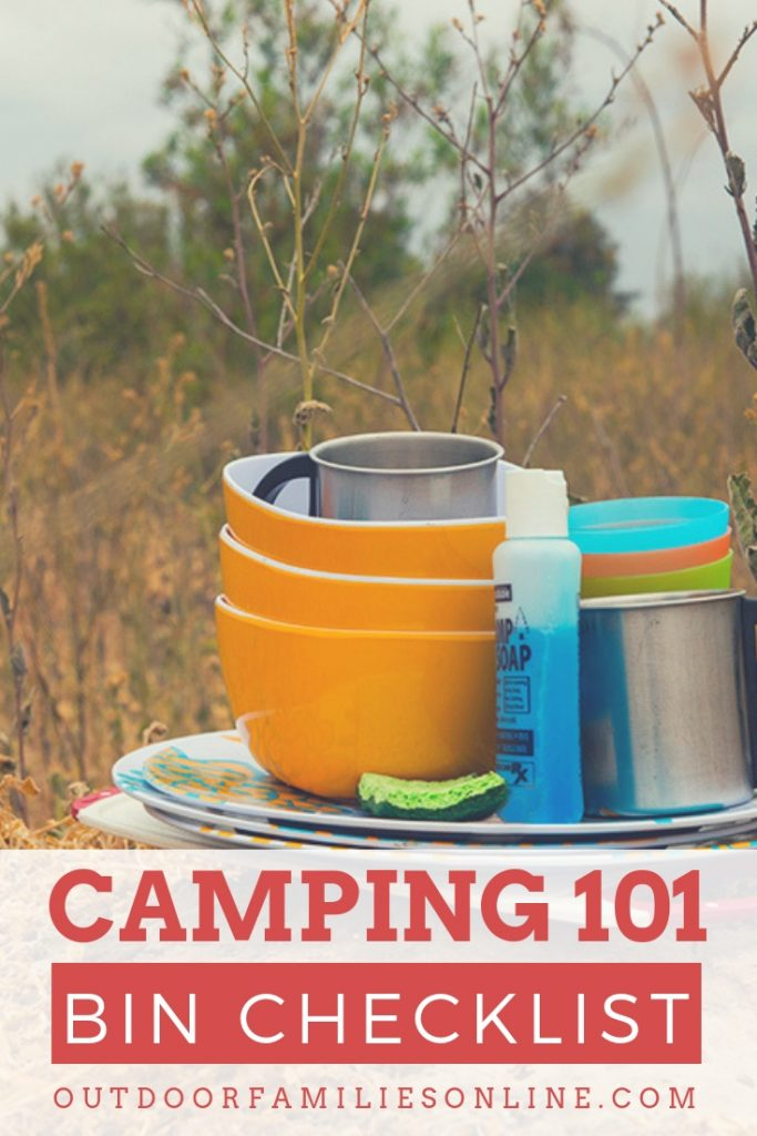 Family Camping Packing List | Printable Camping Checklist