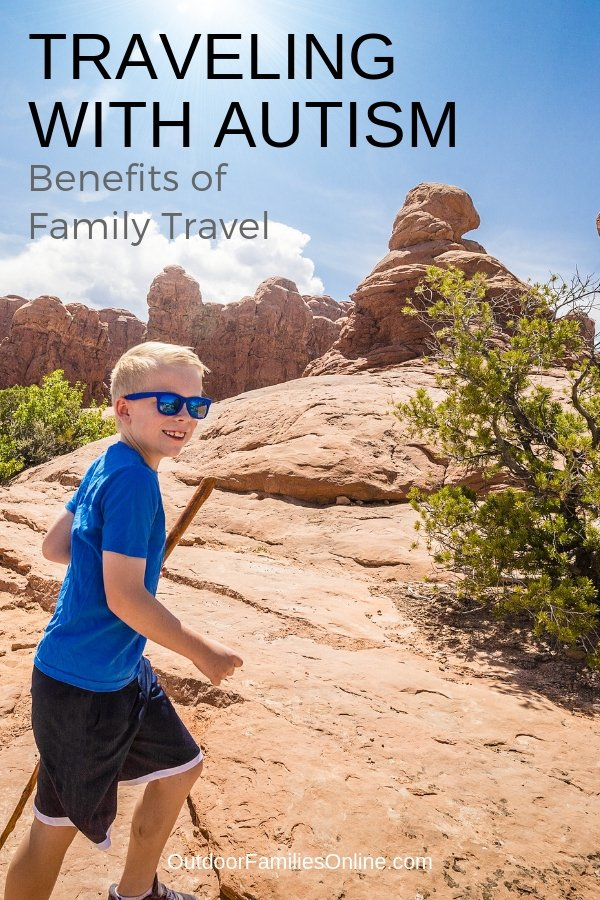 Why Traveling with Autism is Beneficial for Families. When you travel with a child who has autism it requires special planning and thought. Read how one mom gets through the challenges and how her autistic son reaps the benefits of travel.