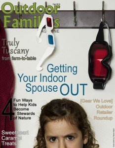 February 2015 Magazine Issue Outdoor Families Magazine