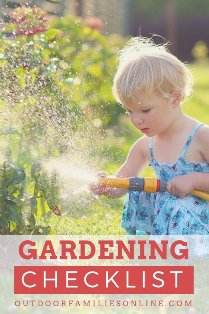 Tips & Tricks for Gardening with Kids | Printable Checklist