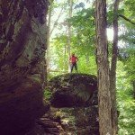 """Earthcaching"" Indiana's Hemlock Cliffs - Outdoor Families Magazine"