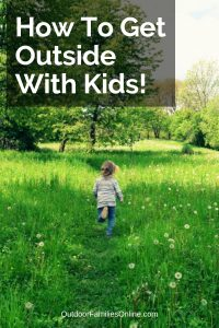 how to get kids outside and homestead