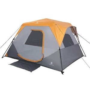 instant pop up family camping tent