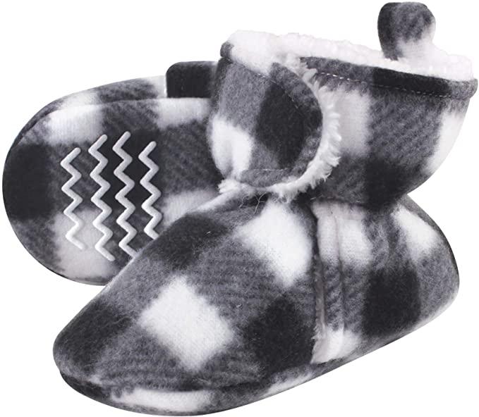 toddler fleece bootie slippers