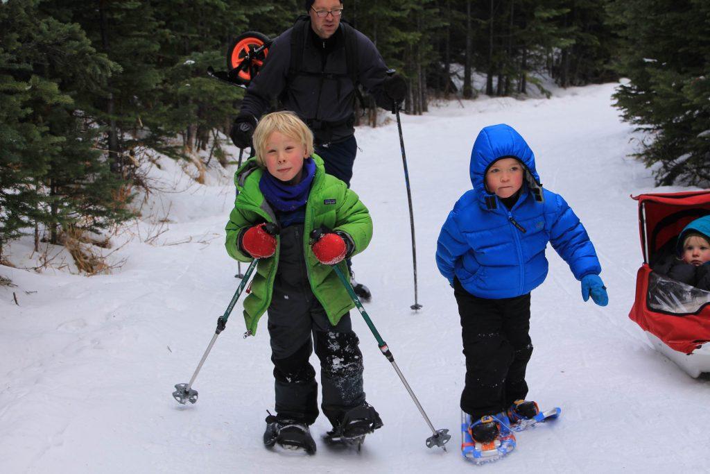 Kids Ski Shoe