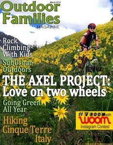 March 2015 cover archive Outdoor Families Magazine
