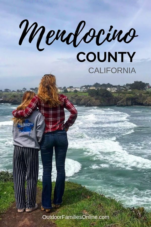 mendocino county california lodging and family travel