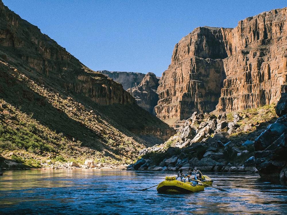 Grand Canyon River Rafting Trip