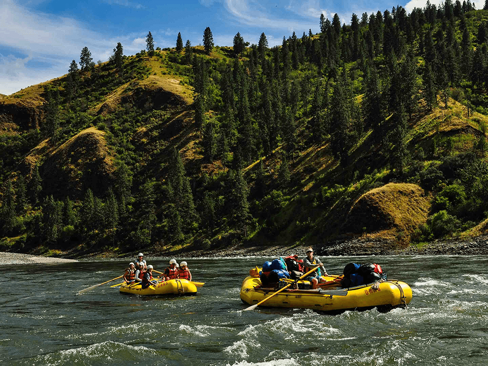 Family River Rafting on the Lower Salmon River, Idaho