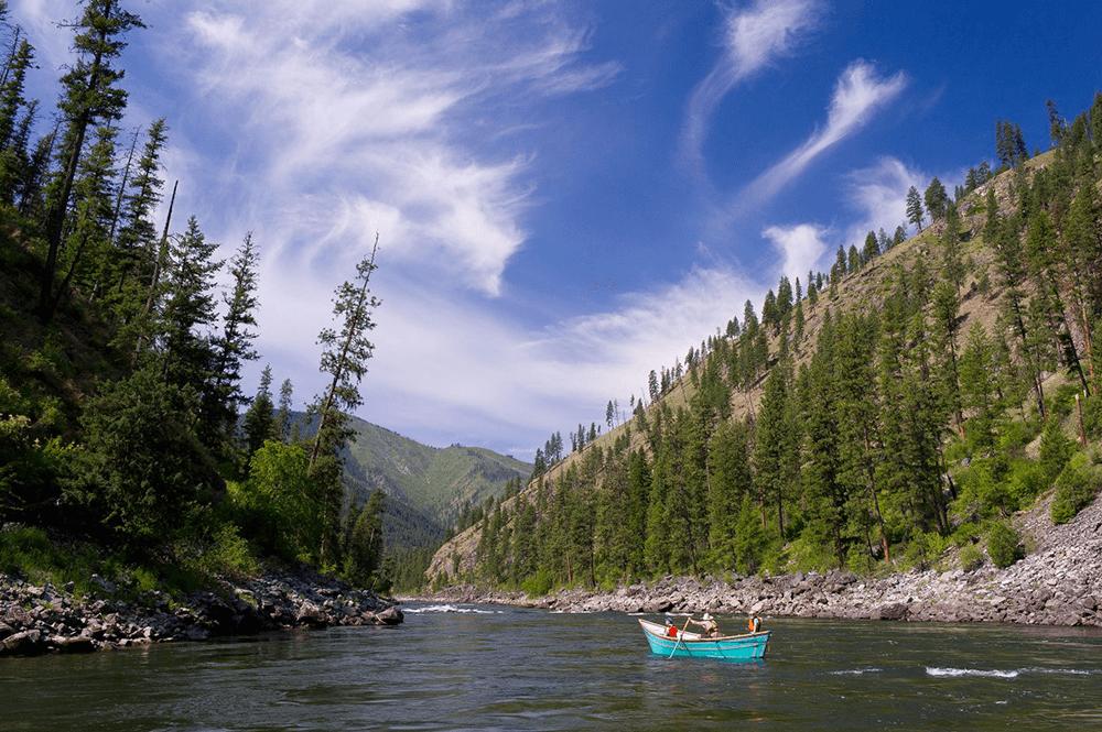Family River Rafting on the Main Salmon River, Idaho