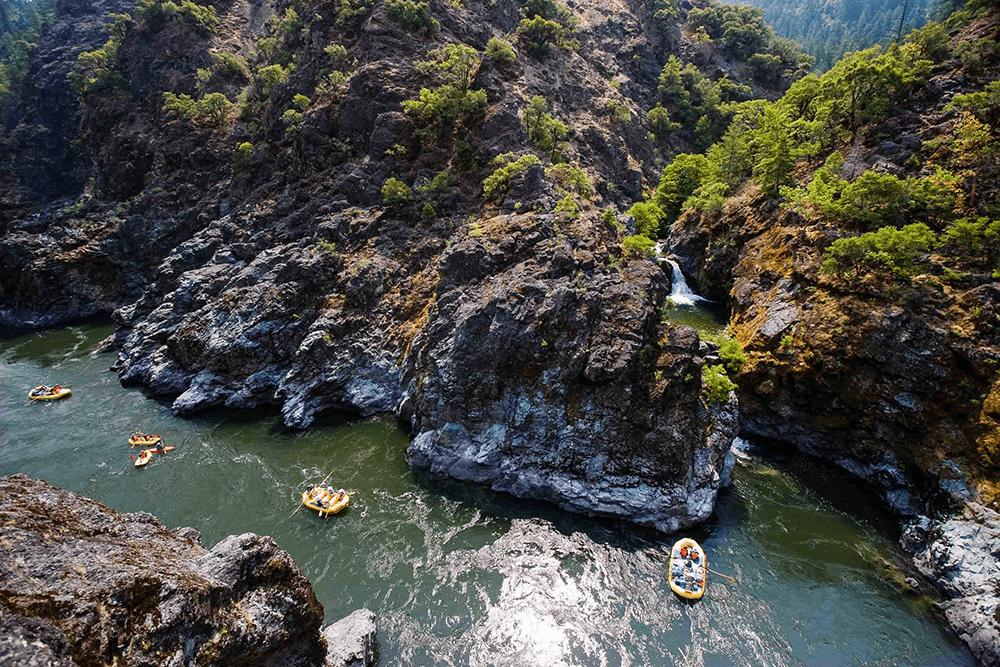 Rogue River Rafting Trip, Oregon