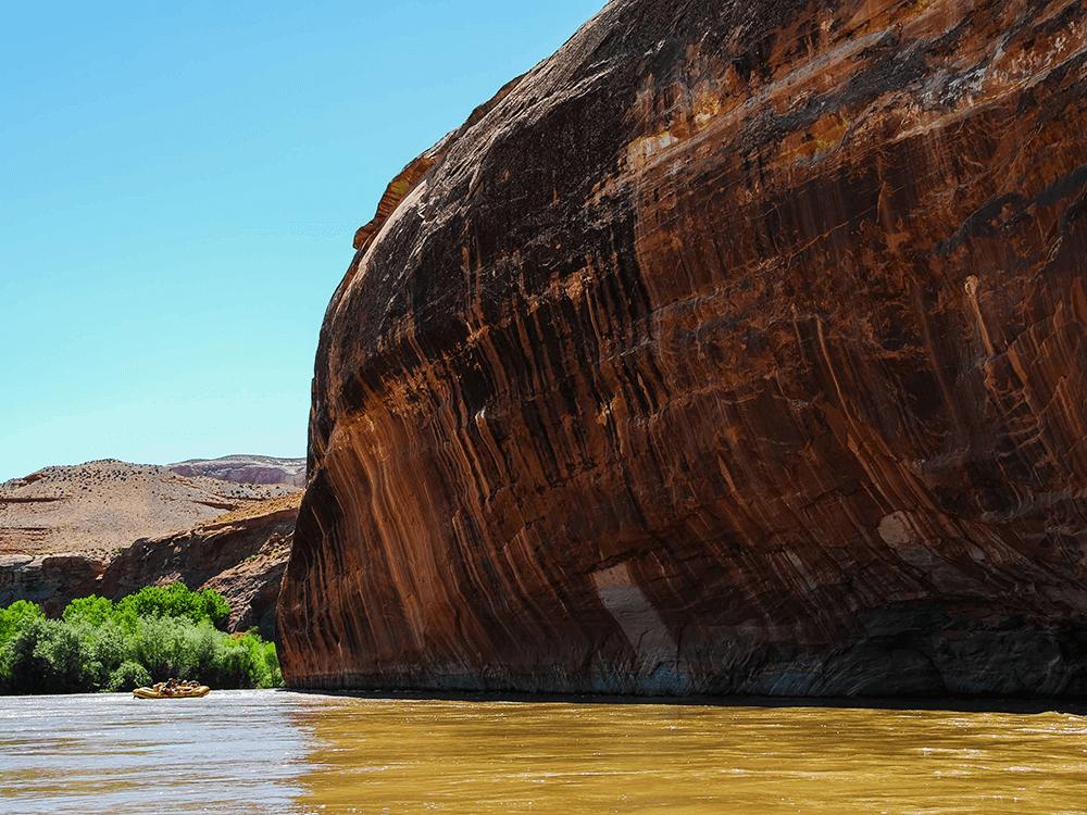 Family River Rafting Trip on San Juan River, Utah