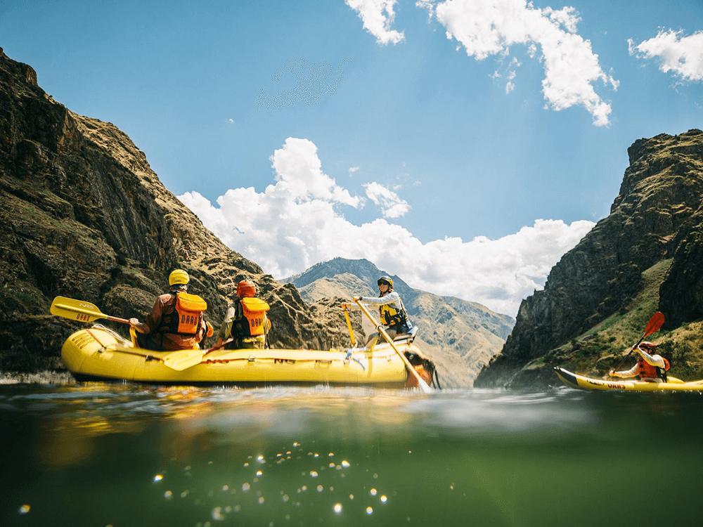 River Rafting Trip through Hells Canyon; Snake River, Idaho