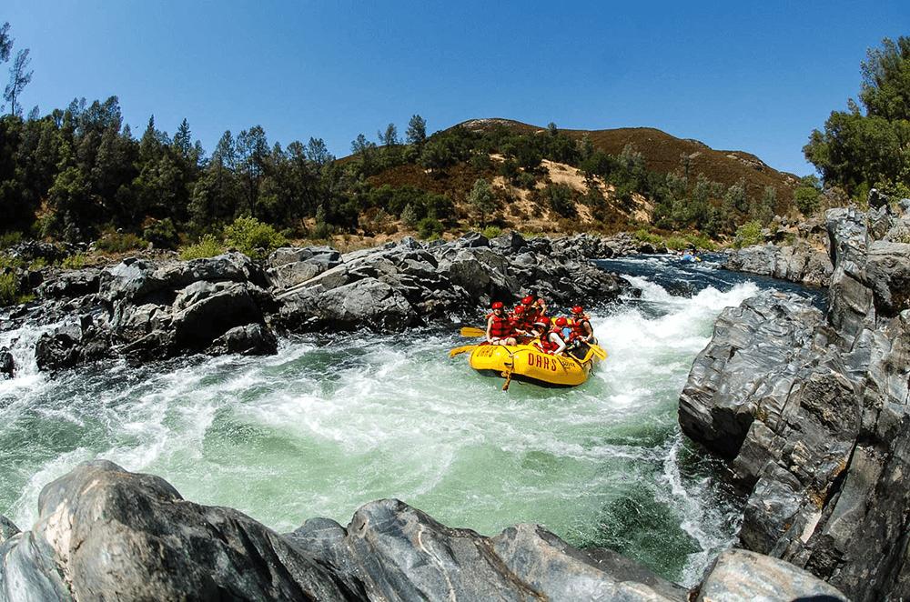 California's American River; South Fork River Rafting Trip