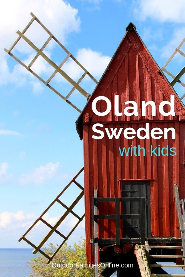 Oland, Sweden is a popular summer holiday destination offering biking, camping, windsurfing, and tons of other family friendly adventure.