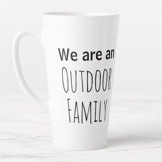 outdoor family coffee mug