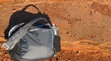 Pacsafe Shoulder Bag Works for Parents on the Go