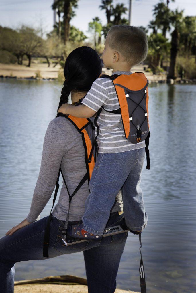 piggyback rider hiker