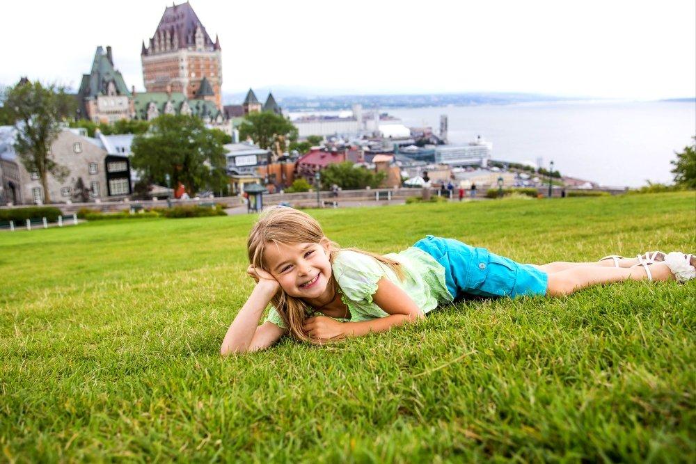 Quebec canada family travel