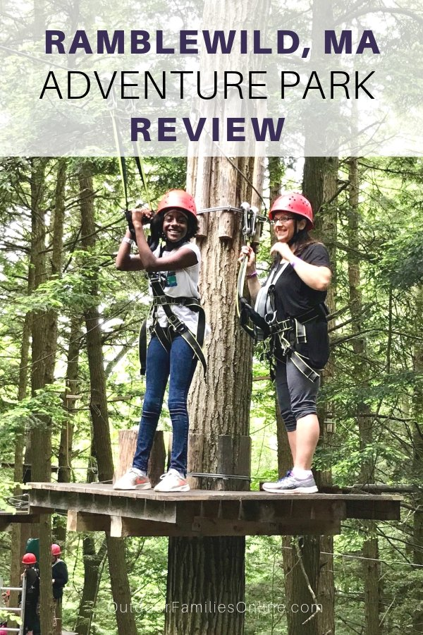 Ramblewild's Tree-to-Tree Adventure Park is the premier aerial adventure park in the Berkshires, for kids of all ages and abilities. Read our review now.