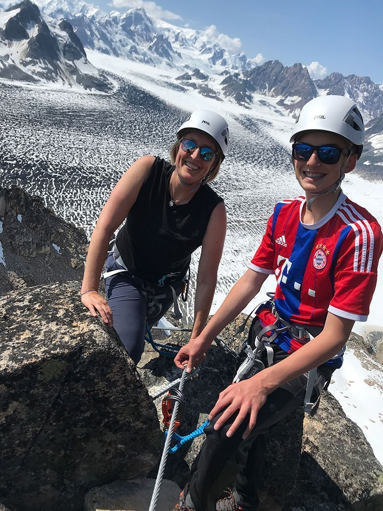 tordrillo mountain lodge family vacation