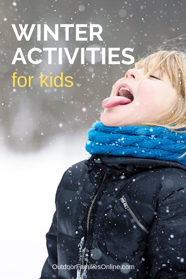 Instead of going stir crazy, try these fun things to do with kids in winter. Here's a great list of winter activities for kids to help break up the boredom.